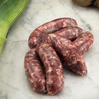 Organic Pork And Garlic Sausages