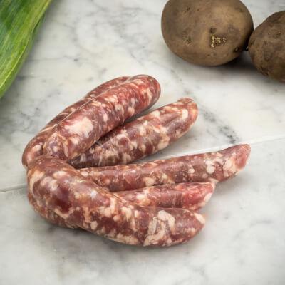 Organic Plain Pork Sausages - Gluten Free