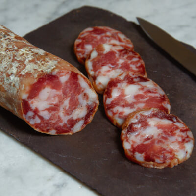 Organic Salami With Red Wine