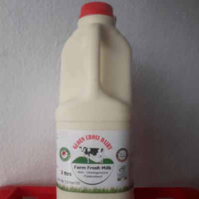Pasturised Milk - Non Homogenous