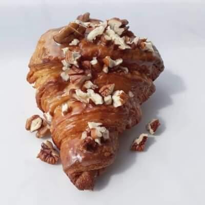 Glazed Pecan Croissant