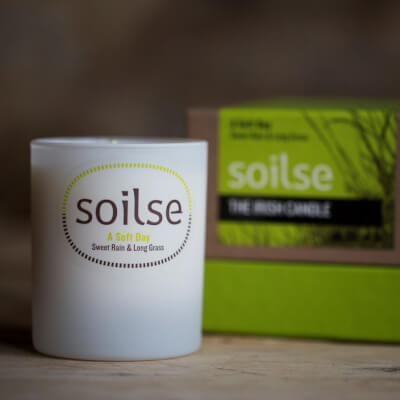 Soilse  'Soft Day ' Fragranced Soy Wax Candle