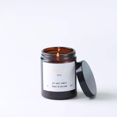Soilse Apothecary ;Moss' Fragranced Soy Wax Candle