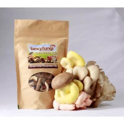 25G Dried Wild & Gourmet Mushrooms