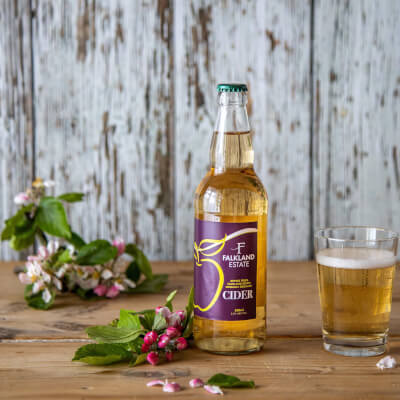 Falkland Estate Cider From Our Organic Orchard