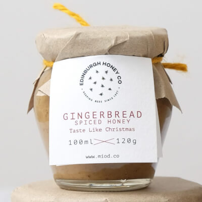 Gingerbread Spice Infused Honey From Falkland Estate Bees