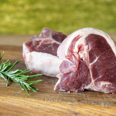 Frozen Lamb Double Loin Chop From Falkland Estate Organic Farm