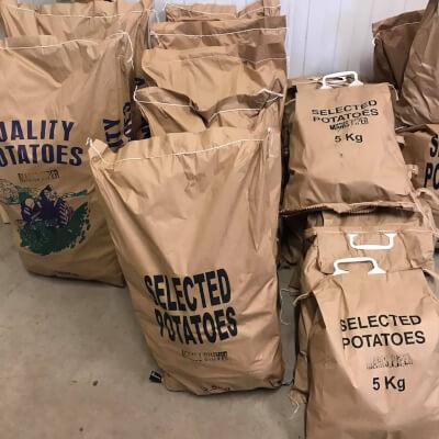 Maris Piper Potatoes From Nethermyres Farm