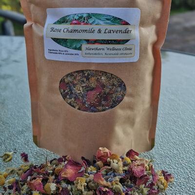 Rose Chamomile And Lavender Tea
