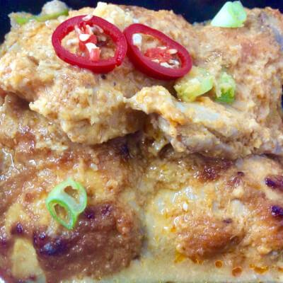 Japanese Miso Chicken On Fragrant Ginger Rice