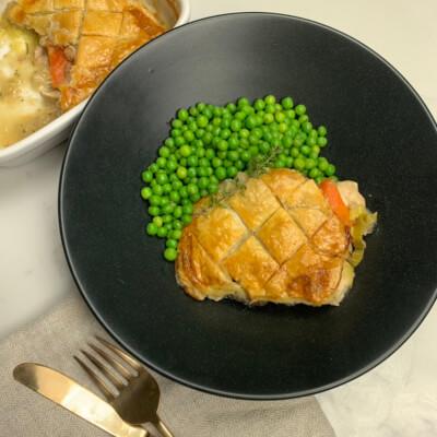 Chicken, Leek & Smoked Pancetta Pie