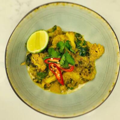 Cauliflower, Potato & Coconut Curry (Vegan) (Gluten Free)