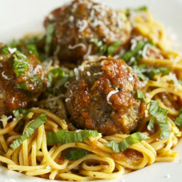 Italian Meatballs With Slow Roasted Tomato Sauce