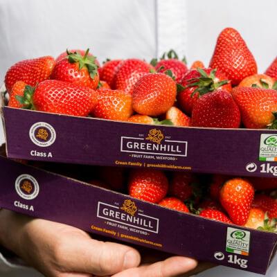 Fresh Irish Wexford Strawberries - 1Kg