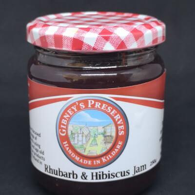 Rhubarb And Hibiscus Jam