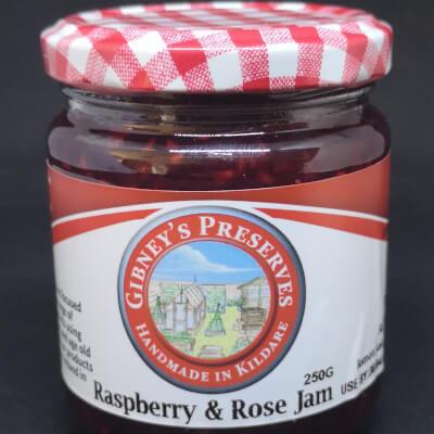Raspberry And Rose Jam