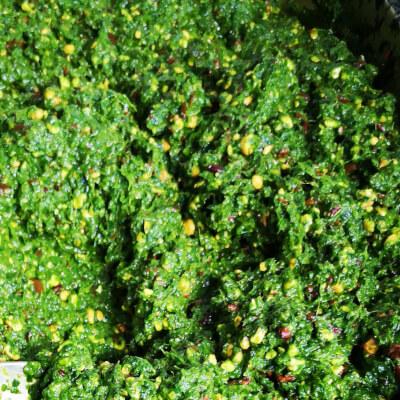 Spinach And Garlic Pesto