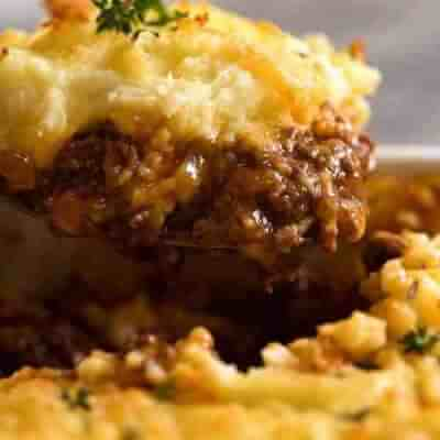 Homemade Traditional Cottage Pie