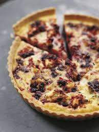 Goats Cheese And Beetroot Quiche