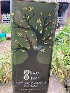 New Season 2019-2020 Extra Virgin Olive Oil 5Lt Tin