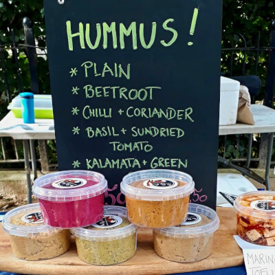 Special Edition - Five Tubs Of Hummus