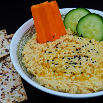 Plain Hummus