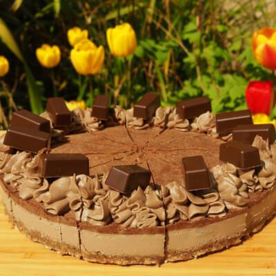 Choccolate & Hazelnut Raw Cake