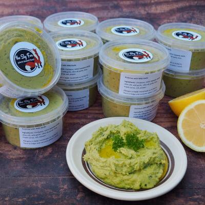 Hummus With Coriander & Chilli
