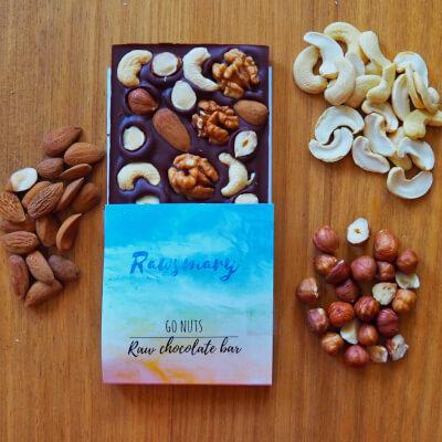 Go Nuts! Raw Chocolate Bar