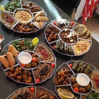 Mezze Platter - Lebanese (6 Dishes)