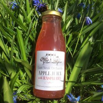 Scottish Apple Juice With Raspberries