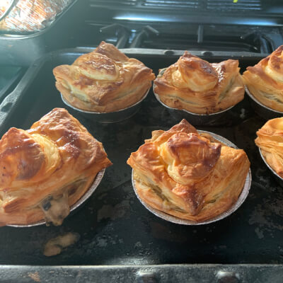 Savoury Individual Pies