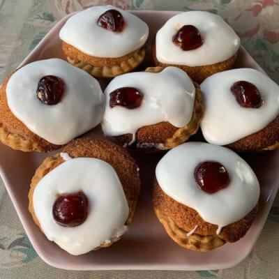 Individual Cherry Bakewells