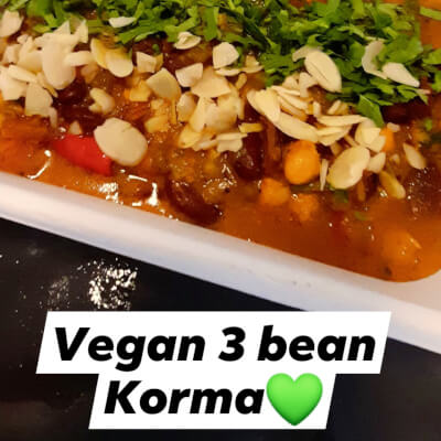 Ramja, Chole And Green Mung Bean Korma
