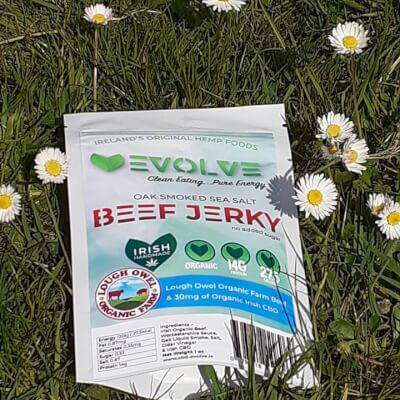 Evolve Infused Beef Jerky
