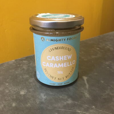 Nut Butter, Cashew Caramello - Almighty Foods - Organic