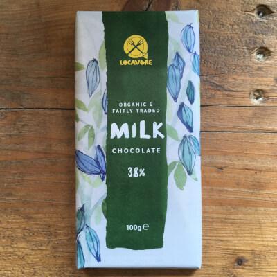 Chocolate, Milk - Organic, Fairly Traded