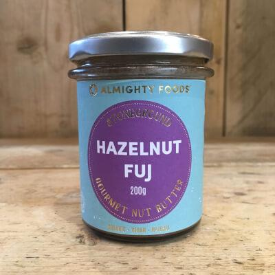 Nut Butter, Hazelnut Fuj - Almighty Foods - Organic