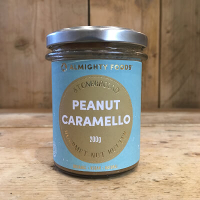Nut Butter, Peanut Caramello - Almighty Foods - Organic