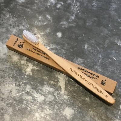 The Environmental Toothbrush, Medium