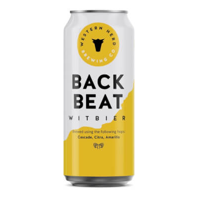 Back Beat Witbier 5.0%  Abv