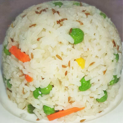 Vegetable Rice With Coconut (Vegan)
