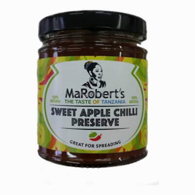 Sweep Apple Chilli Preserve (Vegan)