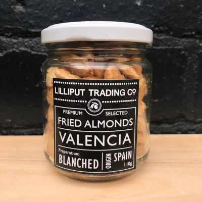 Blanched Almonds Roasted & Salted