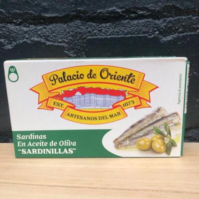 Palacio De Oriente Sardines In Olive Oil