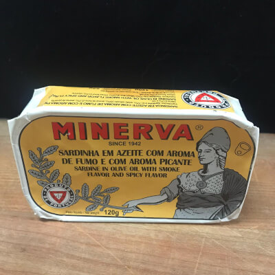 Minerva Sardines Smoked With Olive Oil And Spice