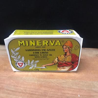 Minerva Sardines In Olive Oil And Lemon