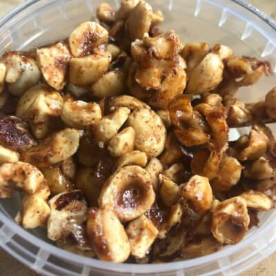 My...Candied Hazelnuts