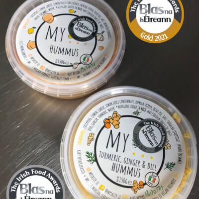 My...Turmeric, Ginger & Dill Hummus