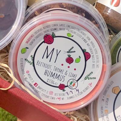 My...Beetroot & Thyme Hummus
